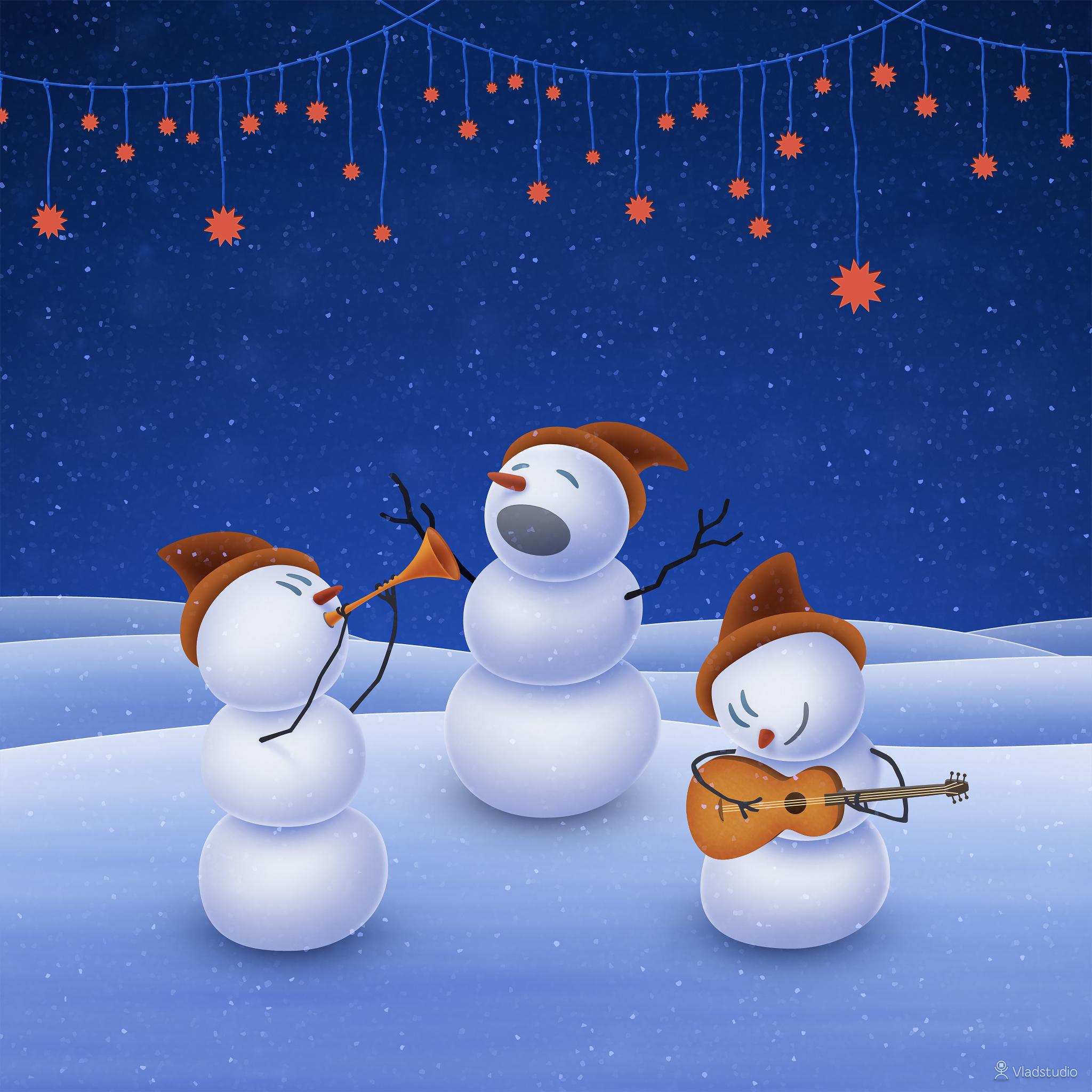 Singing-Snowman